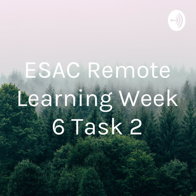 ESAC Remote Learning Week 6 Task 2