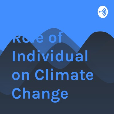 Role of Individual on Climate Change