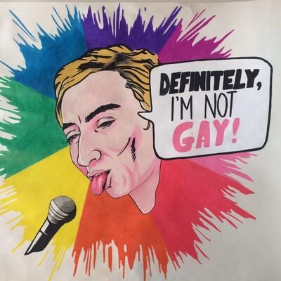 Definitely, I'm not gay