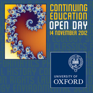 Department for Continuing Education Open Day 2012