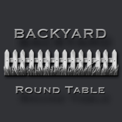 Backyard Round Table