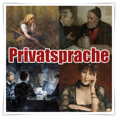 Privatsprache: Philosophie!