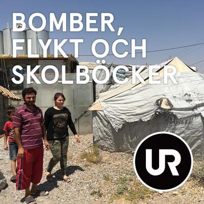 Bomber, flykt och skolböcker