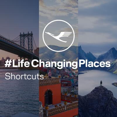 LifeChangingPlaces - Shortcuts