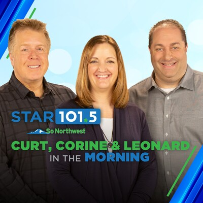 Curt, Corine and Leonard in the Morning