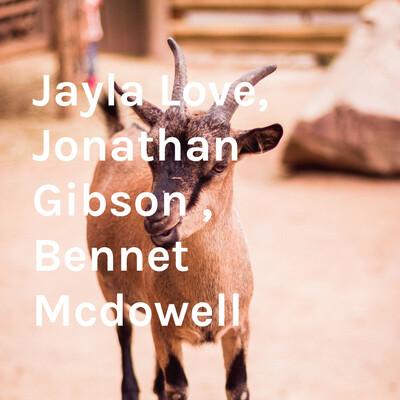 Jayla Love, Jonathan Gibson , Bennet Mcdowell