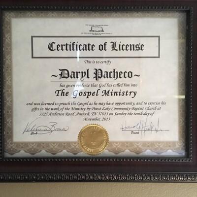 Daryl's Dream Audio-Sermons