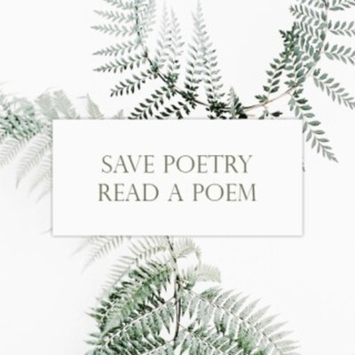 Save Poetry, Read a Poem
