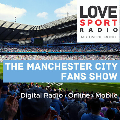 Manchester City Fans Show on Love Sport