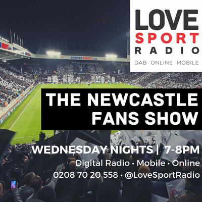 Newcastle Fans Show on Love Sport