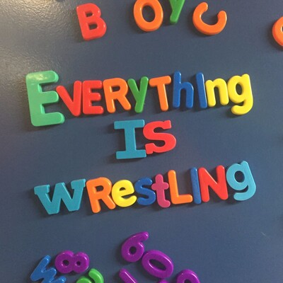 Everything Is Wrestling
