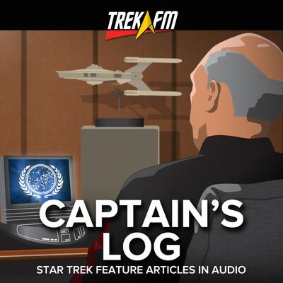 Captain's Log: Star Trek Features Articles in Audio