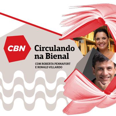 CBN Circulando na Bienal - Ronald Villardo e Roberta Pennafort