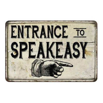 Welcome to the speakeasy