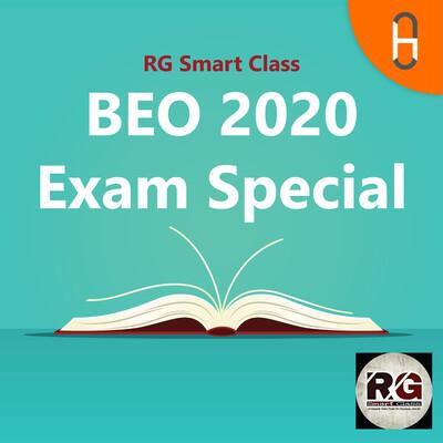 BEO 2020 Exam Special