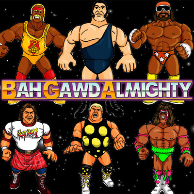 Bah Gawd Almighty Wrestling Review