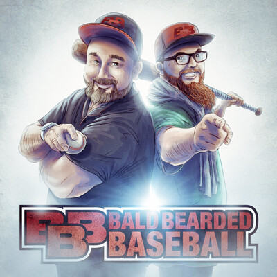 Bald Bearded Baseball