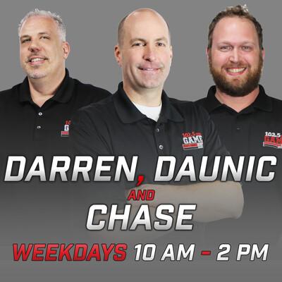 Darren, Daunic and Chase