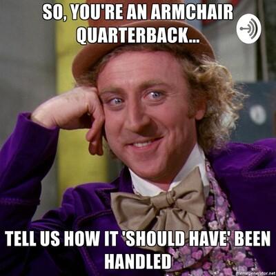 Armchair Takes & Debates