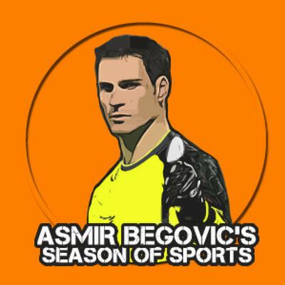 Asmir Begovic's Season of Sports