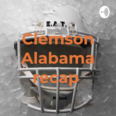 Clemson Alabama recap