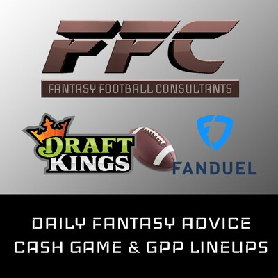 FanDuel NFL Cash Game and GPP Lineups - Week 9 2019