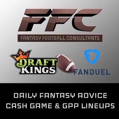 FanDuel NFL Cash Game and GPP Lineups - Week 9 2019