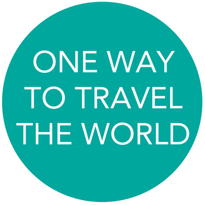 ONE WAY TO TRAVEL THE WORLD