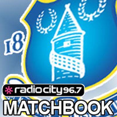 Everton FC Matchbooks