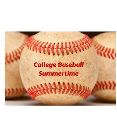College Baseball Summertime