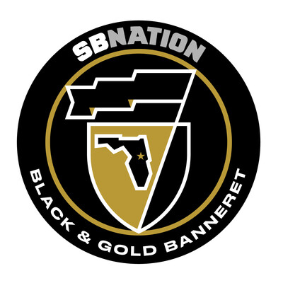 Black & Gold Banneret: for UCF Knights fans