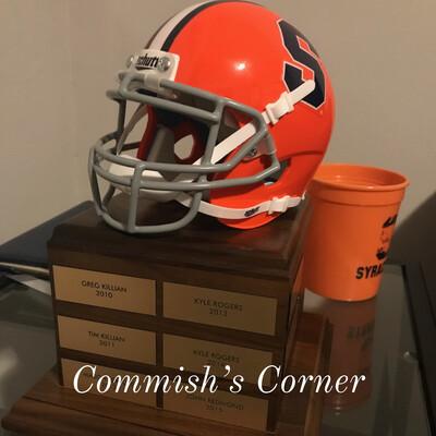 Commish's Corner - A Syracuse Fantasy Football Podcast