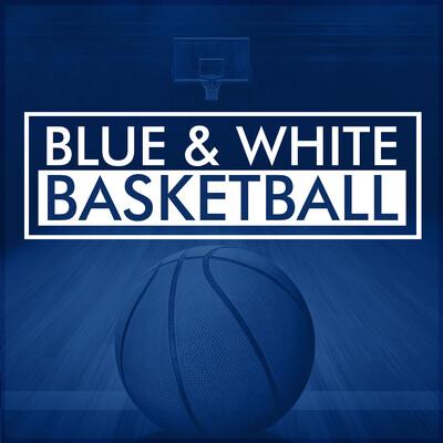 Blue & White Basketball