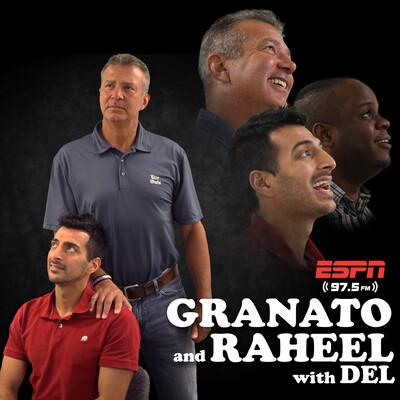 Granato & Raheel with Del