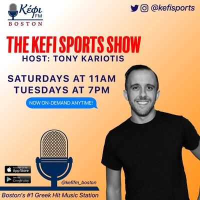 Kefi Sports Show with Tony Kariotis
