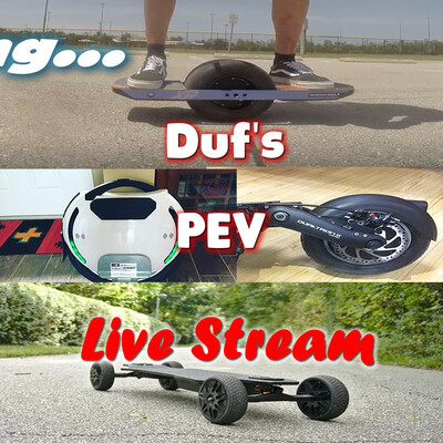 Duf's Personal Electric Vehicle Show