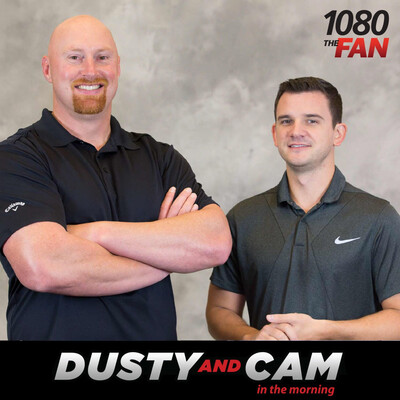 Dusty and Cam in the Morning