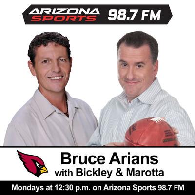 Brcue Arians w/ Bickley & Marotta - Segments and Interviews