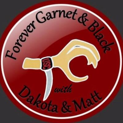 Forever Garnet and Black with Dakota and Matt