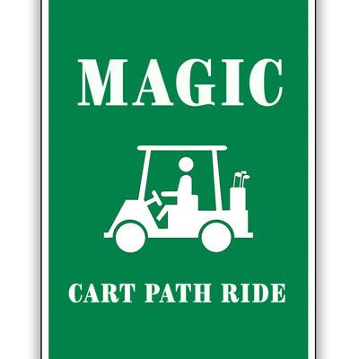 Magic Cart Path Ride