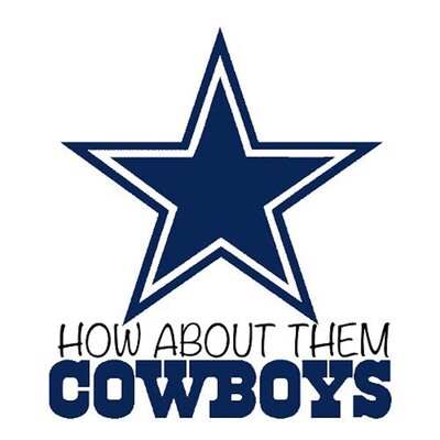 How About Them Cowboys