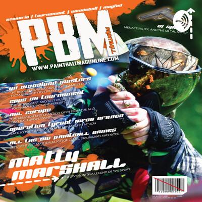 PBM paintball magazine