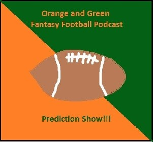 Orange and Green Fantasy Sports