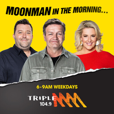 Moonman In The Morning Catch Up - 104.9 Triple M Sydney - Lawrence Mooney, Jess Eva & Chris Page