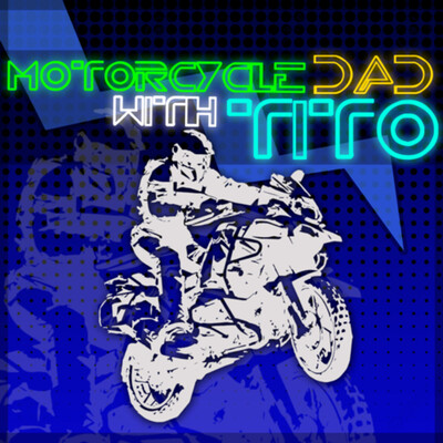 Motorcycle Dad with Tito