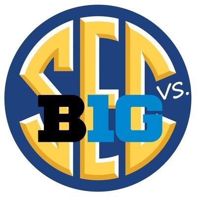 SEC vs B1G College Football Podcast