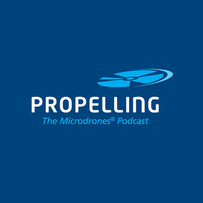 Propelling by Microdrones