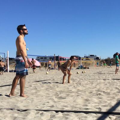 Sets on the Beach