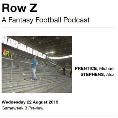 Row Z: A Fantasy Football Podcast