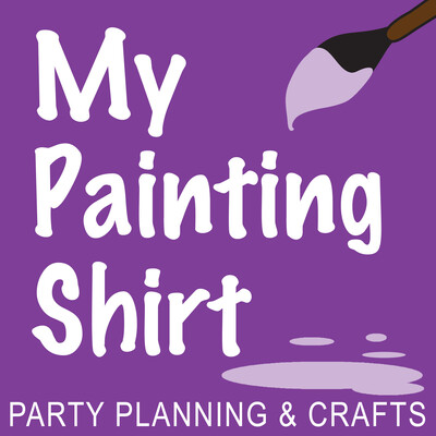 My Painting Shirt Podcast: Theme Parties | Costumes | Crafts